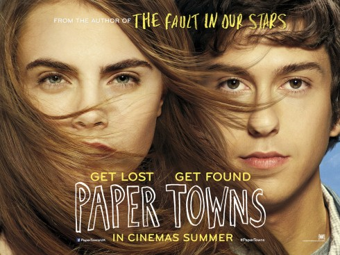 Poster bộ phim Paper Towns với sự tham gia của Cara Delevingne và Nat sẽ ra rạp vào mùa hè năm nay
