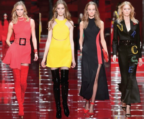 Best in Show Thời trang Thu-Đông 2015: Versace