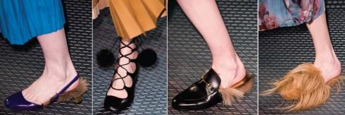 Những kiểu giày của Gucci hứa hẹn sẽ tạo nên một trào lưu mới mạnh mẽ.