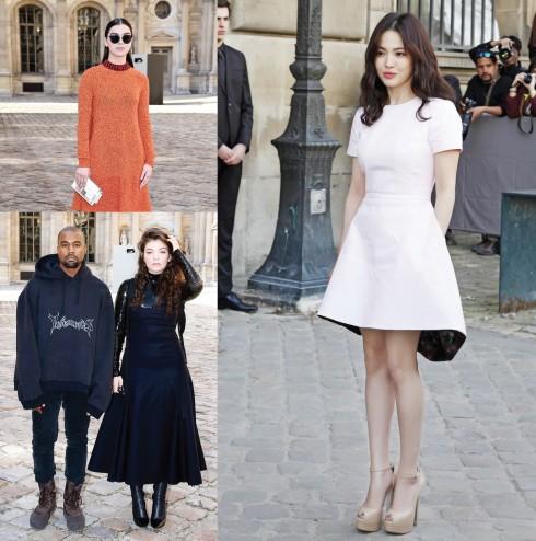 Khách VIP đến từ khắp nơi trên thế giới luôn chọn những thiết kế mới nhất của Dior để xuất hiện ở hàng ghế đầu.