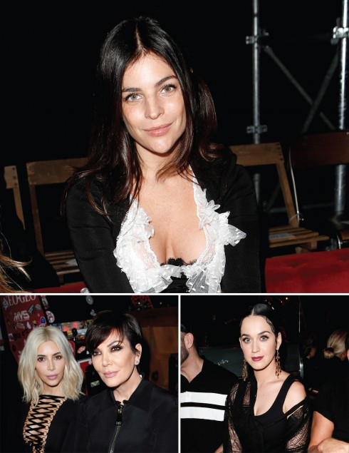 Các khách mời VIP trong Givenchy Show