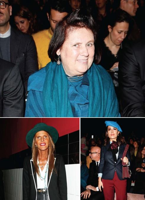 Những chuyên gia và cây bút thời trang kỳ cựu đến ủng hộ cho BST đầy thuyết phục của Alessander Michele