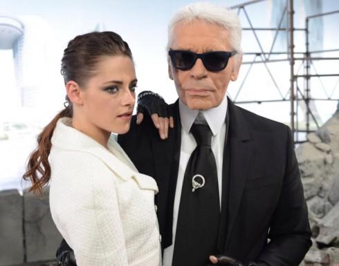 DV Kristen Stewart và NTK Karl Lagerfeld