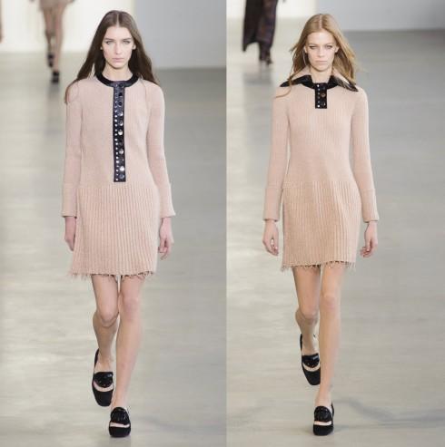 Đầm len trong BST Thu Đông của Calvin Klein