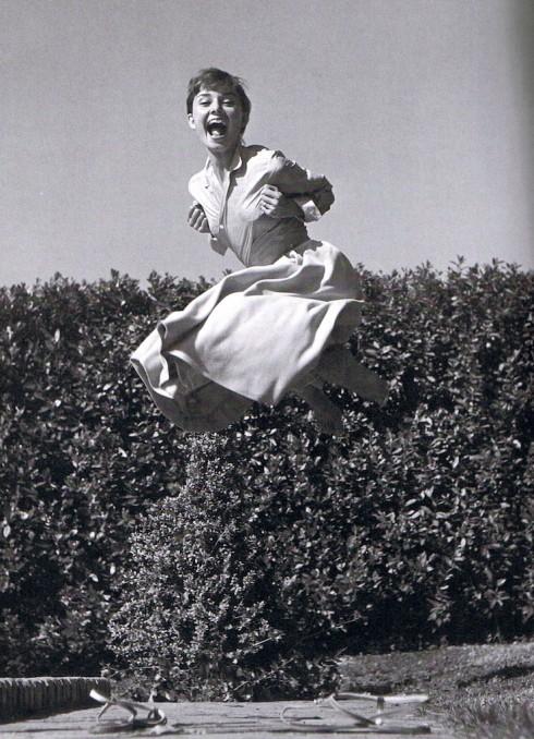 Diễn viên Audrey Hepburn (1955)