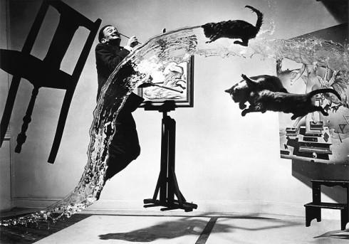 Nghệ sĩ Dalí Atomicus khi Jump (1948)