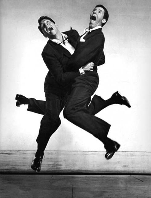 Cặp đôi nghệ sĩ hài Dean Martin và Jerry Lewis (1951)