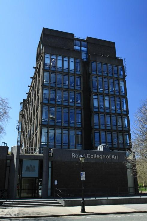 hoc vien thoi trang Royal College of Art
