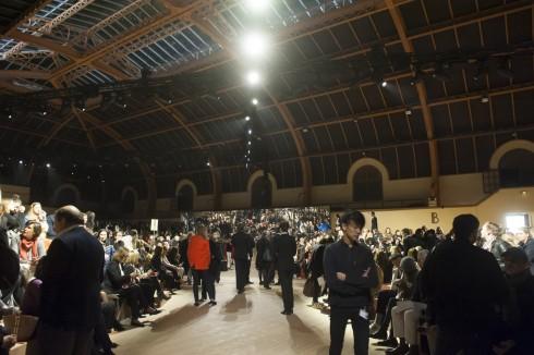 Quang cảnh buổi trình diễn Hermès