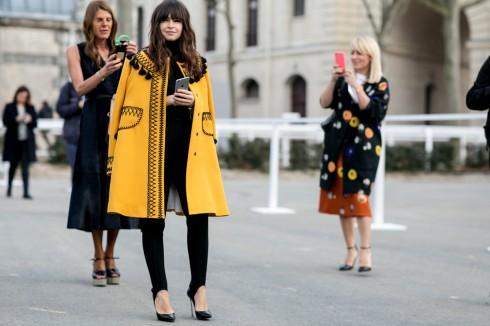 Blogger Chiara Ferragni phong cách nổi bật trên đường phố