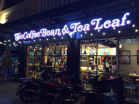 Cửa hàng The Coffee Bean tại Hai Bà Trưng