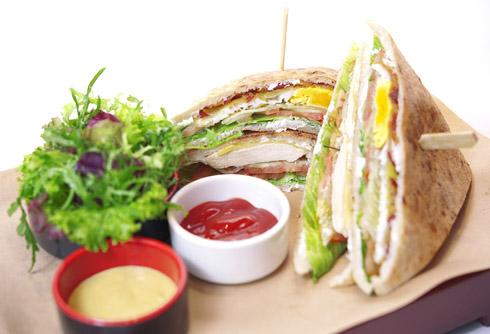 Club Pizza Sandwich