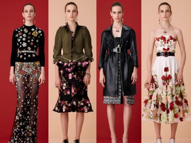 Bộ sưu tập thời trang Alexander McQueen Resort 2016