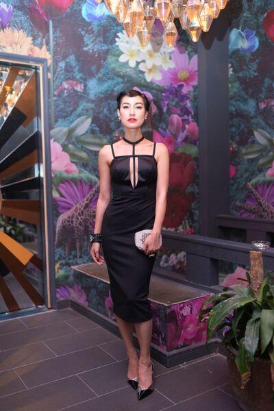 Kathy Uyên và bạn trong sự kiện khai trương Nhà hàng / Bar Saigon Lookout