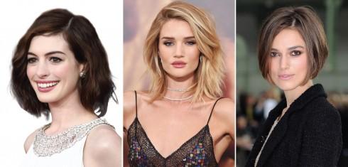 Từ trái qua: Anne Hathaway, Rosie Huntington-Whiteley, Keira Knightley