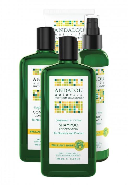Bộ sản phẩm chăm sóc tăng độ bóng tóc Andalou