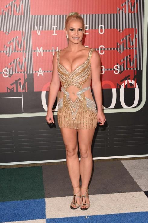 Ca sĩ Britney Spear.