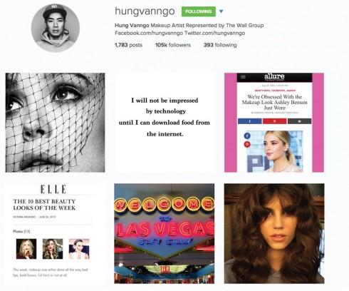 Hung Vanngo instagram