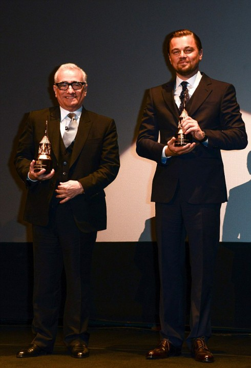 Đạo diễn Martin Scorsese  và Leonardo DiCaprio