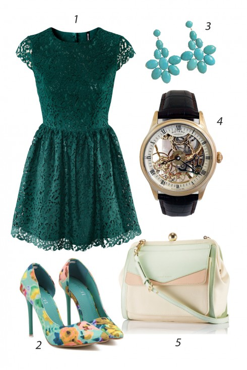 Thứ 4 <br/><br/> 1.H&M 2.TRENDSGAL 3.VALERIE DANENBERG TUQUOISE 4.ROTARY 5.CHARLES&KEITH