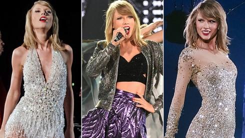 Thời trang của Taylor Swift trên sân khấu World Tour 1989.jpg