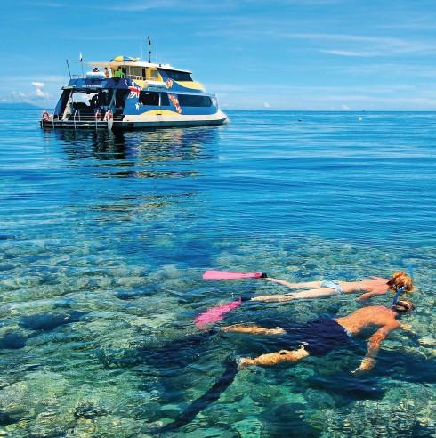 Những rạn san hô là điều bạn không thể bỏ qua khi đã ghé thăm nơi đây. Bạn có thể dễ dàng thuê đồ lặn ngắm san hô ở các đảo.