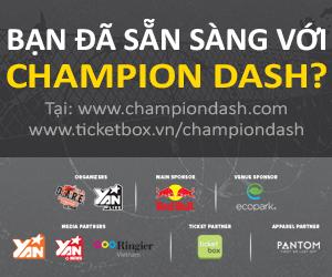 Champion Dash - Sự kiện đáng được mong đợi nhất tại Hà Nội