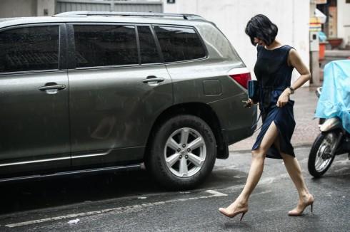 NTK Li Lam trên đường phố Sài Gòn