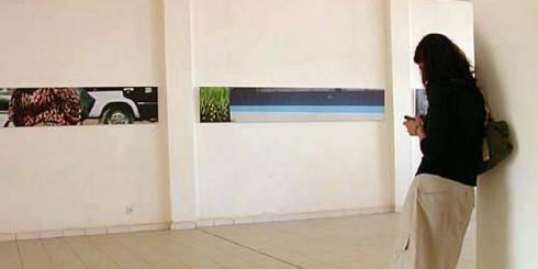 Triễn lãm seires tác phẩm Cairoscapes tại Bamako Biennial, Mali, châu Phi (2005).