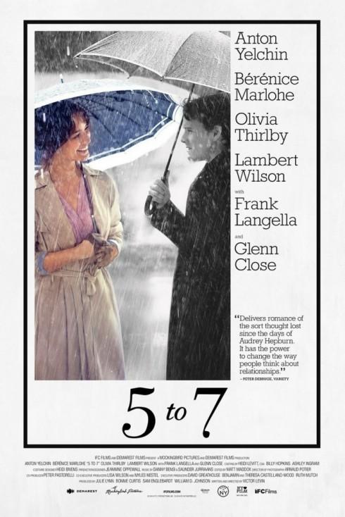"""Chỉ với 5 to 7, một bộ phim chẳng có kịch tính hay cao trào, Victor Levin đã được so sánh như Richard Linklater, một trong những bậc thầy """"trò chuyện"""" trên màn ảnh."""