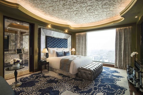 Các phòng có diện tích rộng từ 43 – 53m2, trong khi diện tích của các suite từ 63 – 313m2.