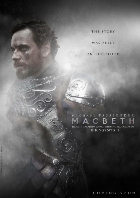 diễn viên X-Men Michael Fassbender - Macbeth - elle việt nam