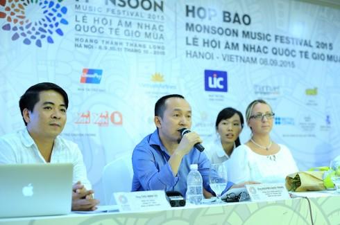 Tổng Đạo Diễn - NS Nguyễn Quốc Trung chia sẻ về những điểm khác biệt của MSF 2015 trước báo giới