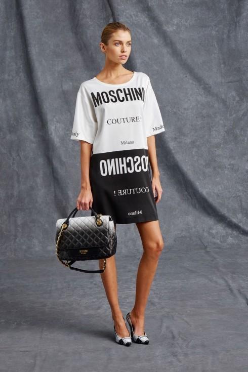 Stella Maxwell trong loạt ảnh thời trang cho bộ sưu tập Resort 2016 của Moschino