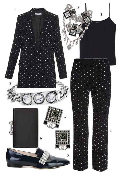 Sang trọng và khác biệt trong bộ suit quần lửng ống loe </br> </br> 1. GIVENCHY 2. CHANEL 3. MAX & Co. 4. GIVENCHY 5. CHRISTOPHER KANE 6. BALENCIAGA 7. CHANEL 8. BALENCIAGA