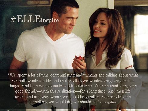 Những câu nói hay của cặp đôi vàng Brad Pitt – Angenlina Jolie 01