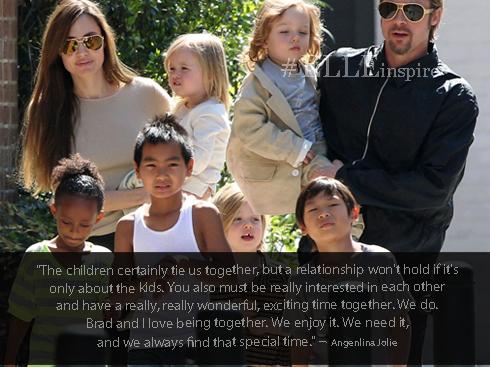 Những câu nói hay của cặp đôi vàng Brad Pitt – Angenlina Jolie 03