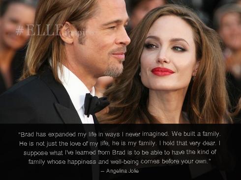 Những câu nói hay của cặp đôi vàng Brad Pitt – Angenlina Jolie 07