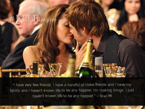 Những câu nói hay của cặp đôi vàng Brad Pitt – Angenlina Jolie 08