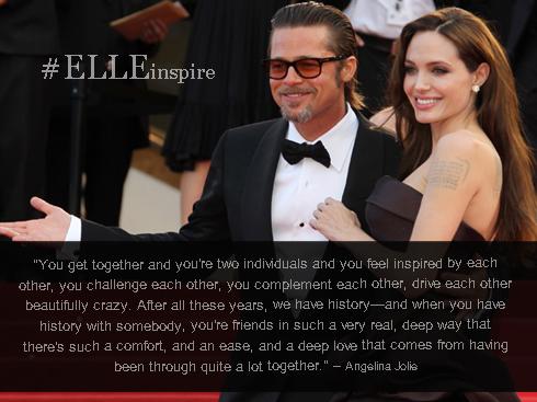 Những câu nói hay của cặp đôi vàng Brad Pitt – Angenlina Jolie 10