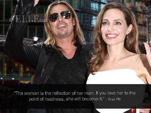 Những câu nói hay của cặp đôi vàng Brad Pitt – Angenlina Jolie 11