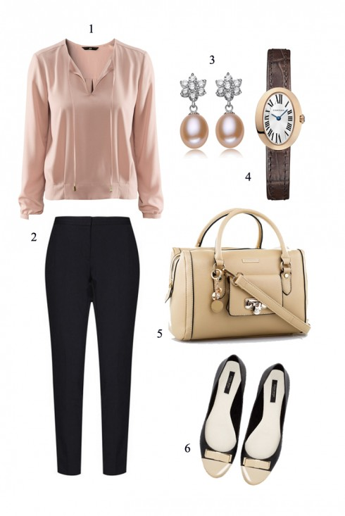 Thứ Ba <br/><br/> 1. H&M 2.NEW LOOK 3.AKARMA 4.CARTIER  5&6.CHARLES & KEITH