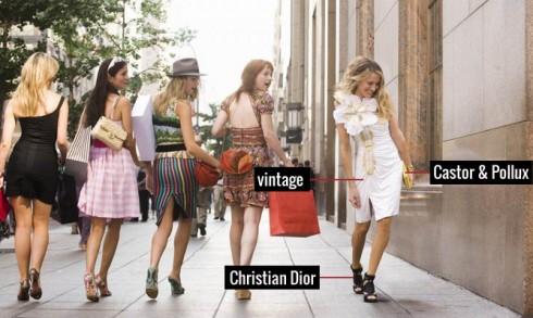 Chiếc đầm được tô điểm bằng một bông hoa thật to, phối cùng giầy Christian Dior, phụ kiện Castor & Pollux đã khiến biết bao cô gái phải ngoái đầu suýt xoa.