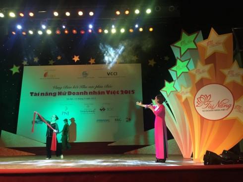 Những tiết mục đặc sắc của các Nữ doanh nhân trong đêm Bán kết cuộc thi