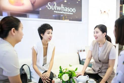 Cô Han Da Eun tư vấn chăm sóc da