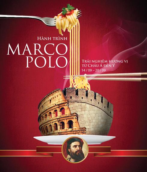 Tuần lễ Marco Polo tại nhà hàng Long Triều và R&J từ ngày 14/9 đến 20/9 với hai thực đơn đặc biệt tưởng nhớ Marco Polo