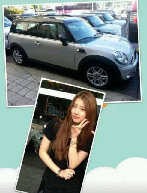 ca sĩ Suzy Bae - her car - elle việt nam
