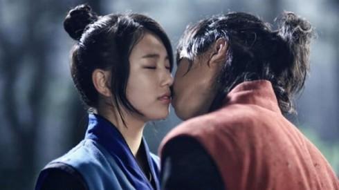 ca sĩ Suzy Bae - kiss scene with Lee Seung Gi - elle việt nam