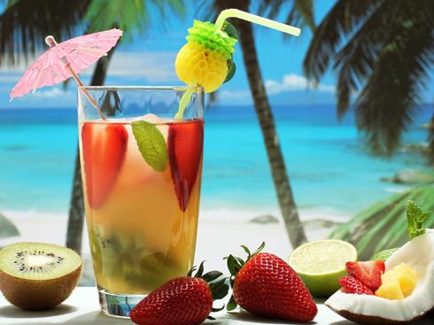 Thức uống Cocktail đầy màu sắc