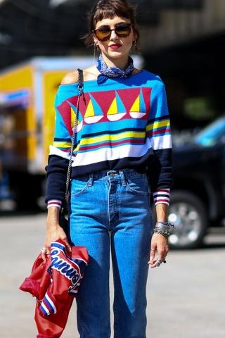 Street style tại tuần lễ thời trang New York 2016